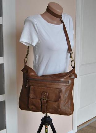 Кожаная сумка / шкіряна сумка