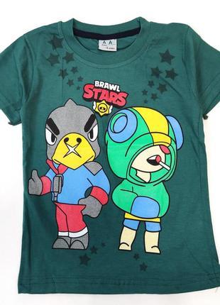 Детская футболка brawl stars 5-8 лет 4100-6