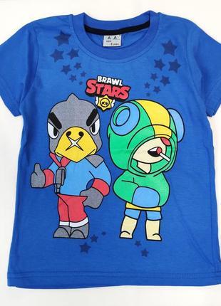 Детская футболка brawl stars 5-8 лет 4100-7