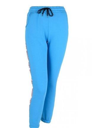 Женские спортивные штаны брюки с лампасами