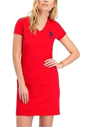 Комфортное стильное платье u.s.polo assn оригинал размер s/36/8
