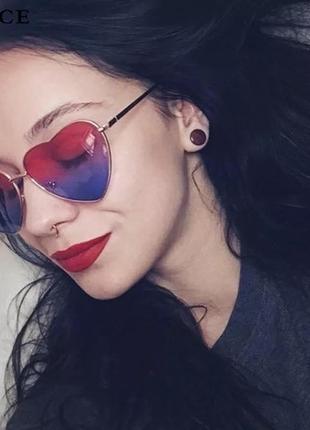 Очки очки сердечки