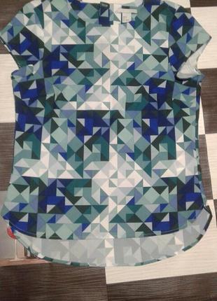 Стильная блуза в ромбы