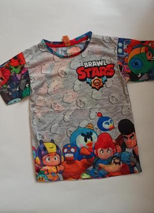 Футболка для мальчика brawl stars. турция