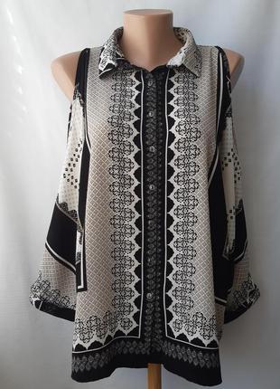 Блуза с открытыми плечами new look, размер 14