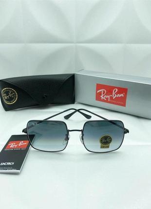 Солнцезащитные очки в стиле ray ban😎🔥с градиентом и зеркальным напылением 🦈