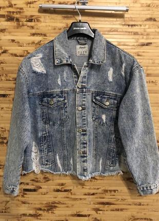 Бомбическая джинсовка-варенка куртка с от denim co.
