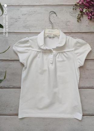 Рубашка блузка m&s б\у 7-8лет