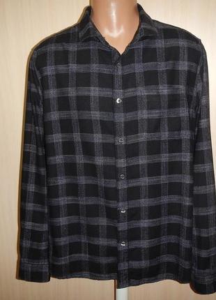 Рубашка burton p.xl 100% хлопок