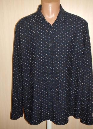 Рубашка f&f p.2xl 100% хлопок