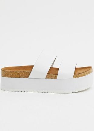 Летние белые сандалии asos оригинал