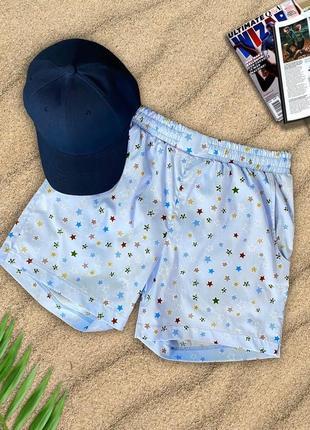 Летние пляжные шорты для плавания летний принт мужские
