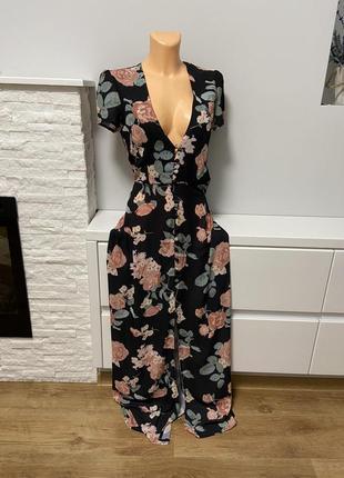 Платье стильное в пол