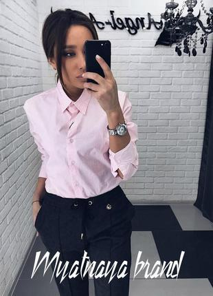 Стильна сорочка коттон