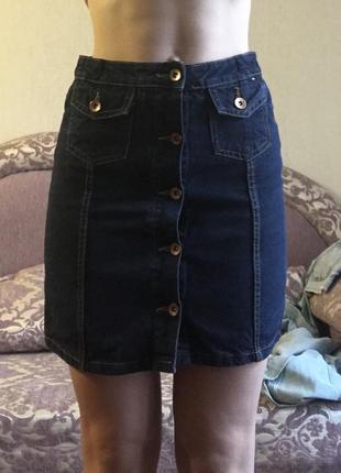 Юбка джинсова юбка джинсовая