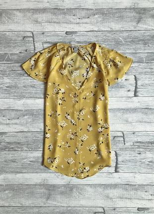Цветочная блуза h&m