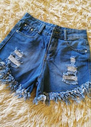 Джинсовые шорты, летние шорты, женские джинсовые шорты