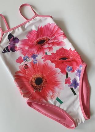 Красивейший купальник с цветами некст