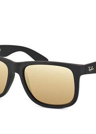 Солнцезащитные очки ray ban justin rb4165 622/5a