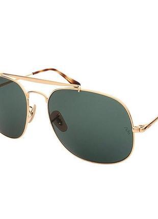 Солнцезащитные очки ray ban, ray-ban the general rb3561 001 оригинал