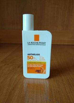 Солнцезащитный флюид spf 50+ la roche-posay