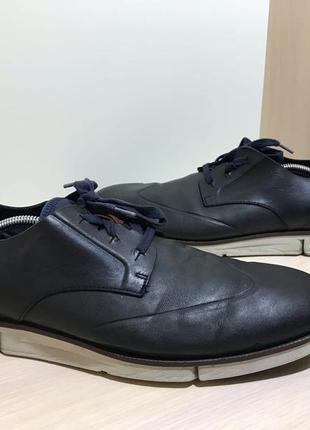 Мужские кожаные туфли clarks ( кларкс 45,5-46рр 29,5см )