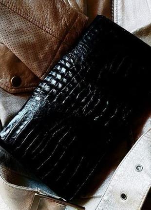 Клатч сумочка 🔥🔥🔥 из кожи крокодила💯