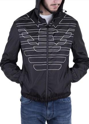 Двусторонняя куртка ветровка emporio armani оригинал