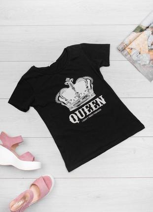 Классные футболки queen для стильных модниц