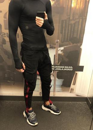 Карго джинсы zara (m) размер