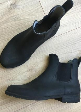Ботинки челси резиновые сапоги