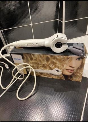 Стайлер автоматический плойка для волос philips