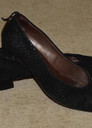 Туфлі замш petеr kaiser (німеччина) розмір 36,5 туфли