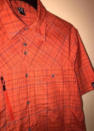 Трекинговая рубашка на короткий рукав haglofs