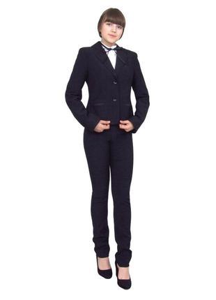 Пиджак школьный для девочки м-515 рост 122 128 134 140 152 164 и 170
