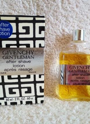 Givechy gentleman after shave lotion apres rasage 60 ml лосьон после бритья