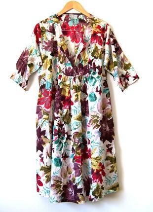 100% хлопок. masai. дания. легкое пляжное платье с карманами. оверсайз.