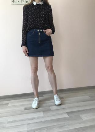 Джинсова юбка / спідниця