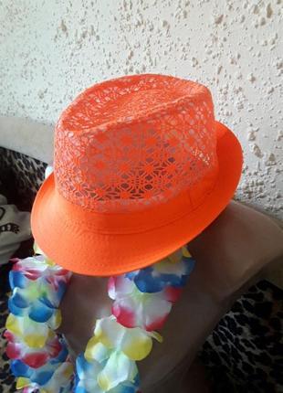 Новая шляпа лето сетка