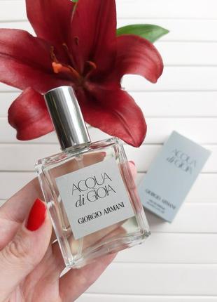 Acqua di gioia armani 35 мл люкс качество!!! мини парфюм,парфюмерная вода тестер 35 ml