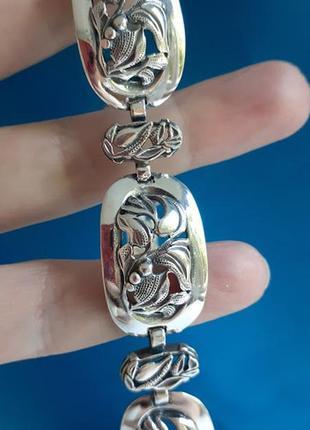 Серебряный браслет украина 29 размер