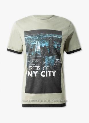 Стильная хлопковая мужская футболка c&a кунда р. s, м, l, xl-ка