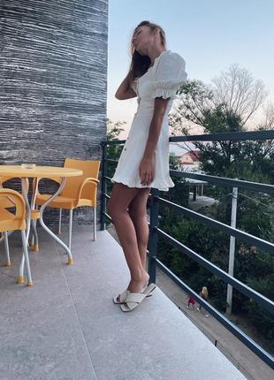 Новинка платье лен