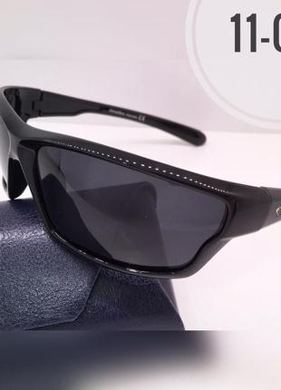 Солнцезащитные очки atmosfera спортивные черные  линзы polarized