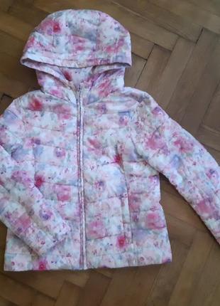 Курточка zara для девочки на 7-8 лет