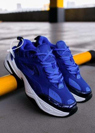 """Nike m2k tekno """"blu racer"""" (кроссовки синие найк)"""