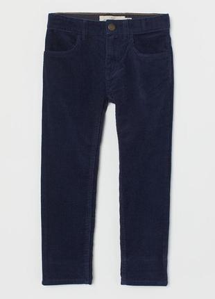 H&m вельветовые штаны на мальчика 1,5-2 лет.