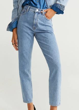 Новые mom jeans mango