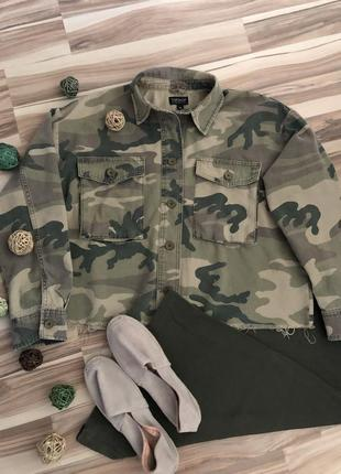 Бомбезная коттоновая куртка,пиджак,жакет «military» (великобритания🇬🇧)