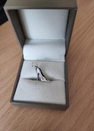Кулон підвіска срібло туфелька подвеска серебро обмін обмен